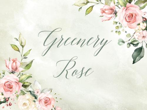 Greenery Rose